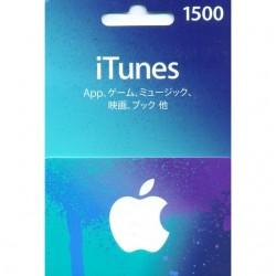¥1500 iTunes