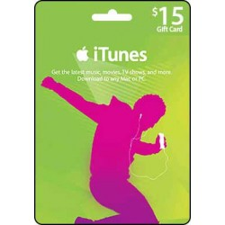 $15 iTunes
