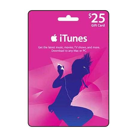 $25 iTunes