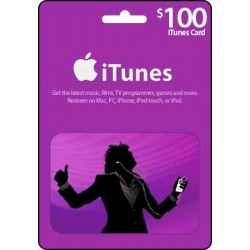 $100 iTunes