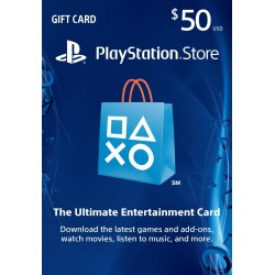美國Playstation Network Card PSN $20 禮物卡