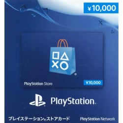 日本 Playstation Network Card PSN ¥10000 禮物卡